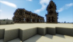 Nabataea desertic house Minecraft Map & Project