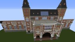 Rijksmuseum Amsterdam, The Netherlands Minecraft Map & Project