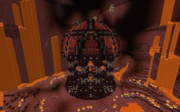 Deep Nether Spawn Minecraft Map & Project