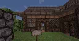 Hidden bookshelf door Minecraft Map & Project