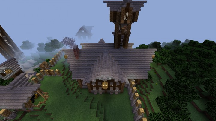 Rustic Estate Minecraft Project