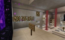 Quartz Server Lobby by Puhtata (Free to download!) Minecraft Map & Project