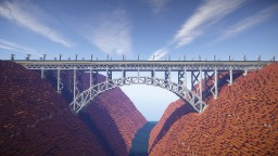 Canyon Arch Bridge 2 Minecraft Map & Project