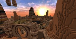 Riyena (Red dessert Town) Minecraft
