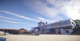 Maison Moderne / Modern House Minecraft Map & Project