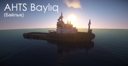 AHTS Baylıq (tugboat) + Schematic Minecraft Map & Project
