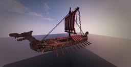 Viking Drakkar Minecraft Project