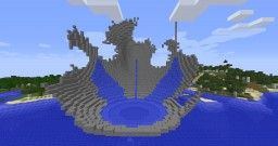 Broken Fountain Minecraft Map & Project
