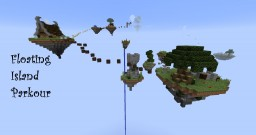 Floating Island Parkour (By Obnoxsis & CamiriKids) Minecraft
