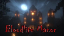 Bloodlite Manor - Vampire's Den Minecraft Map & Project