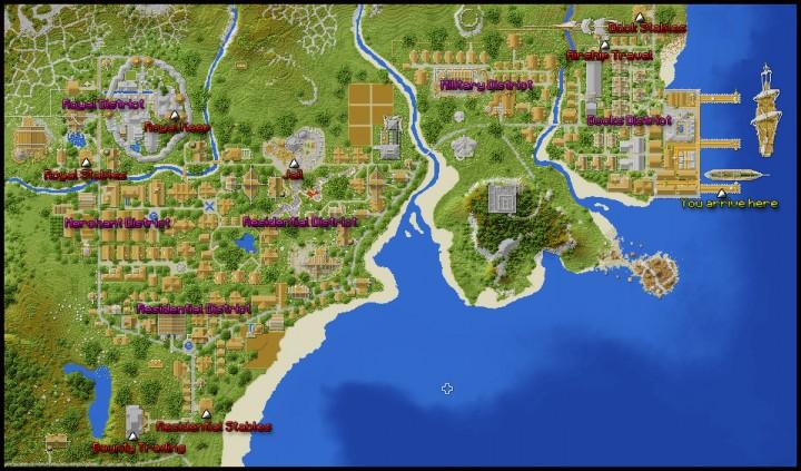 Drobnovia City Map