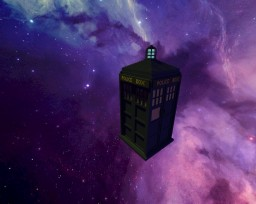 TARDIS - Time And Relative Dimension In Space Minecraft Project