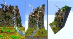 Farmers Water Wheel - 32x32 Plot Minecraft Project
