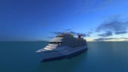 Carnival Breeze Cruise Ship (Full Interior) Minecraft