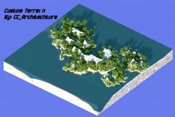 Custom Terrain minipack Minecraft