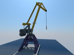 Dockside crane Minecraft Project