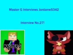 Master G Interviews Jordanw5342 Minecraft Blog Post