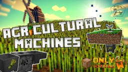 Agricultural Machines in Vanilla Minecraft w/ One Command - Sprinkler, Harvester and Planter! Minecraft