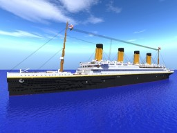 RMS Titanic (outdated) Minecraft