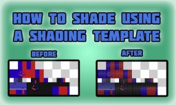 How to Shade Skins Using shading Templates Minecraft Blog