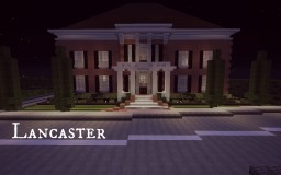 Lancaster- Traditional Craftsman Home Minecraft Map & Project