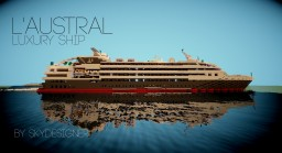 L'Austral Minecraft Map & Project