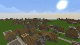 Village - Superflat Preset Minecraft Blog Post