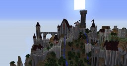 Midevil Castle Minecraft Map & Project