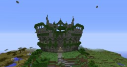 Hanging gardens Arena Minecraft Map & Project