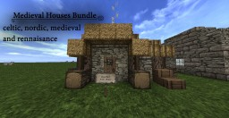 Medieval Bundle (six building types) (1.7.10) (-Conquest required) Minecraft Map & Project