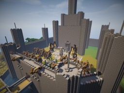 Medieval Castle/Server Spawn Minecraft Map & Project
