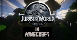 Jurassic World in Minecraft map! By Nex0302 Minecraft Project
