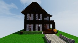 Dark Oak House Minecraft Map & Project