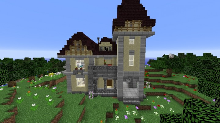 Victorian House RBN Minecraft Project