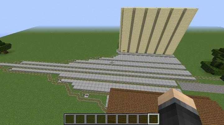 Trains simulator (Use trainscraft mod only!) Minecraft Project