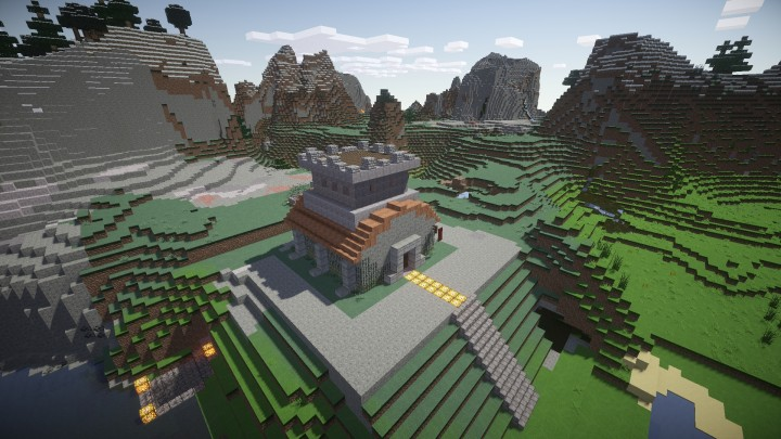 coc th8 house with farms and workshop minecraft project