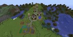 Crown Village Minecraft Map & Project