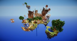 SkullCraft Skyblock v4 | RECENTLY RESET | 10 Themed Starter Islands | MCMMO | Minigames | Player Shops |1.8-1.15+ Clients Minecraft Server