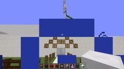 Schwimmbad mit Wasserrutschen, pool with water slides Minecraft Map & Project
