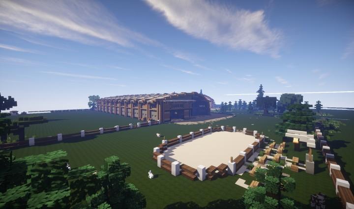 Equestrian Center Minecraft Project
