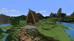 Nordic Church Retreat Minecraft Map & Project