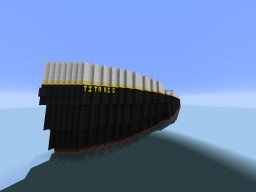 R.M.S. Titanic Out At Sea Minecraft Map & Project