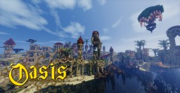 [MythiCubeMMO]: Oasis, the Golden Capital of Azuran! Minecraft