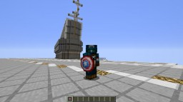 Captain America! Minecraft Map & Project