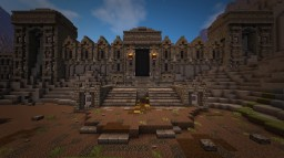 """Skyrim - """"Amplified"""" City of Markarth [Coming Soon] Minecraft Map & Project"""