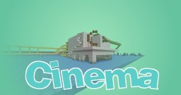 -|Minecraft Cinema + create your own Film|- Minecraft Map & Project