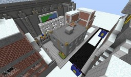Arkham City parkour adventure Minecraft Map & Project