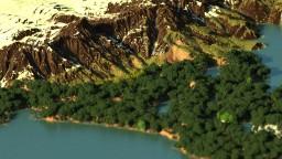 Legend Of Korra - 12k x 12k Custom Terrain Minecraft Map & Project