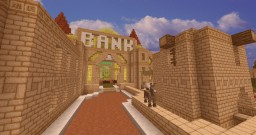 Desert Bank Restyled Minecraft Map & Project
