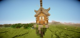 Mini Floating hut Minecraft Project